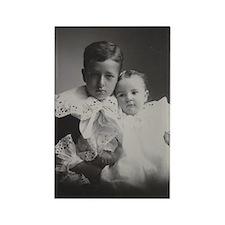 John Kenneth & Katherine Stevens Rectangle Magnet