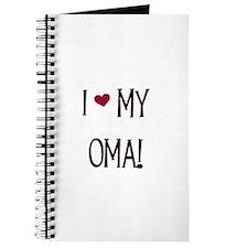 I Love My Oma Journal