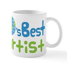 Earths Best Artist Mug