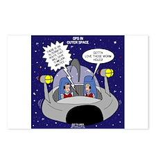 GPS in Space Postcards (Package of 8)