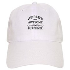 World's Most Awesome Bus Driver Baseball Cap