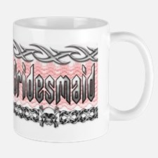 Metal Bridesmaid Mug