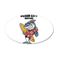 Ocean City, Maryland Wall Decal