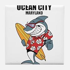 Ocean City, Maryland Tile Coaster