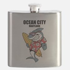 Ocean City, Maryland Flask
