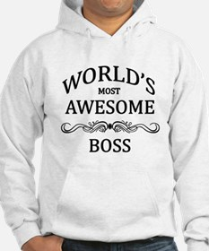 World's Most Awesome Boss Hoodie