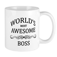 World's Most Awesome Boss Mug