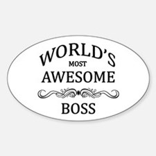World's Most Awesome Boss Decal