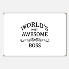 World's Most Awesome Boss Banner