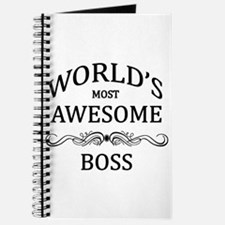 World's Most Awesome Boss Journal