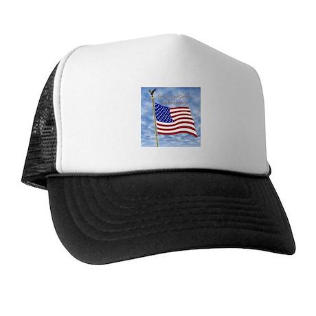 God Bless America 1 Trucker Hat