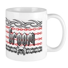 Metal Groom Small Mug