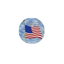 God Bless America 1 Mini Button