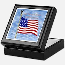 God Bless America 1 Keepsake Box