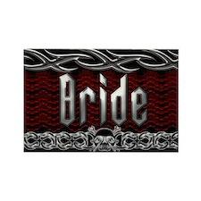 Metal Bride Rectangle Magnet