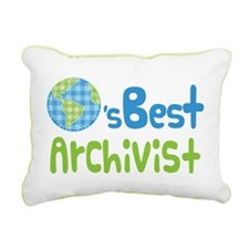 Earths Best Archivist Rectangular Canvas Pillow