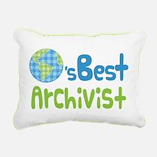 Earths Best Archivist Rectangular Canvas Pillow