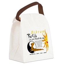 Bikram Calendar GOLDEN Cover Canvas Lunch Bag