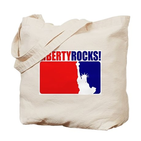 Liberty Rocks! Tote Bag