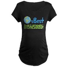 Earths Best Anesthesiologist T-Shirt