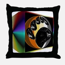 BEAR PRIDE IN PRISM BOX Throw Pillow
