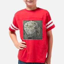 vertical march Youth Football Shirt