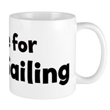 I Live for Land Sailing Mug