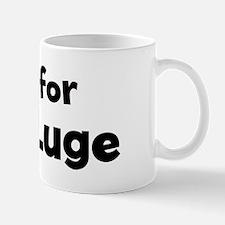 I Live for Land Luge Mug