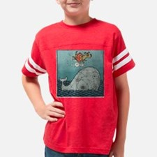 vertical august Youth Football Shirt
