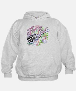 This Flower Girl Rocks Hoodie