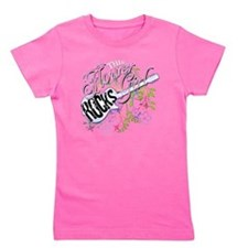 This Flower Girl Rocks Girl's Tee