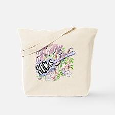 This Flower Girl Rocks Tote Bag