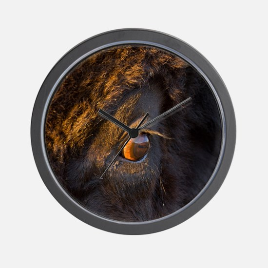 Intruder Wall Clock