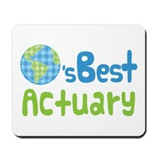 Earths Best Actuary Mousepad