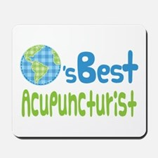 Earths Best Acupuncturist Mousepad