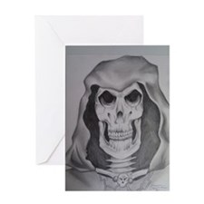 The Grimm Reaper Greeting Card