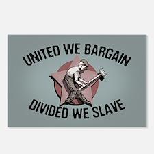 Divided We Slave Postcards (Package of 8)