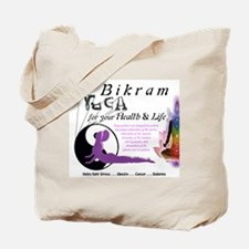 Bikram Yoga Calendar Cover Tote Bag