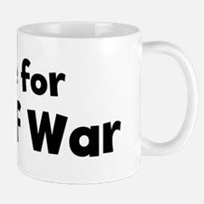 I Live for Tug Of War Mug