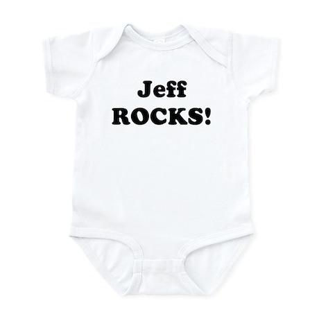 Jeff Rocks! Infant Bodysuit