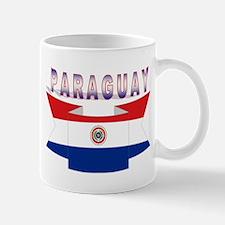 Paraguay's flag ribbon Mug