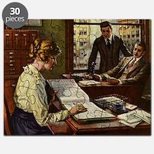 Vintage Business Office Puzzle