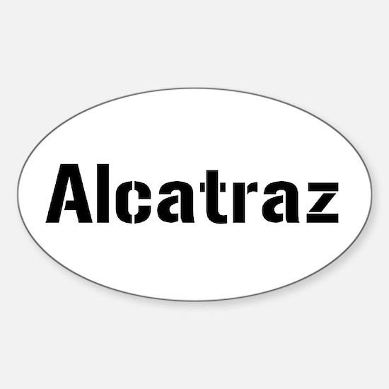 alcatraz Sticker (Oval)