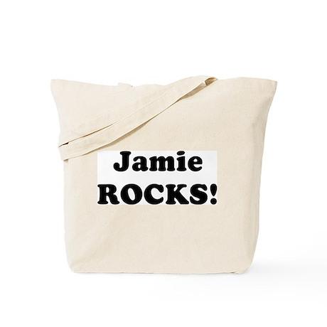 Jamie Rocks! Tote Bag