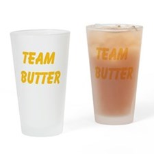 Team Butter Drinking Glass