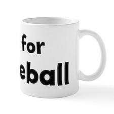 I live for Paddleball Coffee Mug