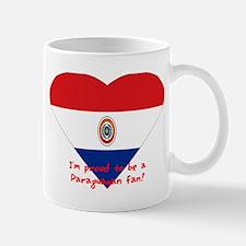 Paraguayan flag fan Mug
