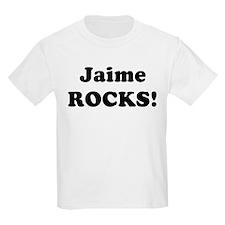 Jaime Rocks! Kids T-Shirt