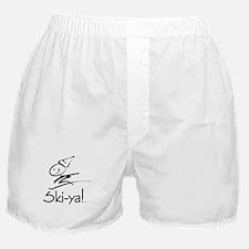Ski-ya! Boxer Shorts
