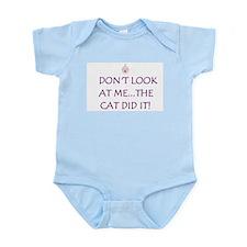 THE CAT DID IT! Infant Bodysuit